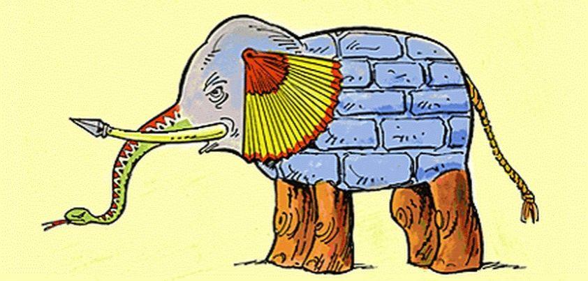 The Blind Men and the Elephant | xpressenglish.com